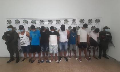 Envían a la cárcel a ocho presuntos 'Papalópez'