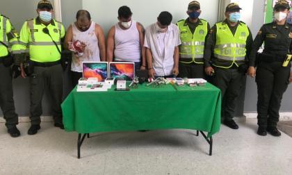 Capturados en balacera en Miramar suman 24 anotaciones judiciales
