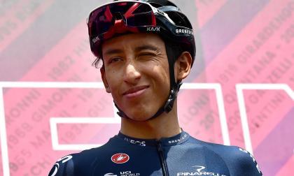 Egan Bernal contento con sus sensaciones en el Giro de Italia 2021