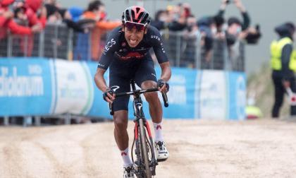 El video de la victoria de Egan Bernal en la etapa 9 del Giro de Italia
