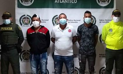 Capturan a tres hombres por homicidio en una finca de Palmar de Varela