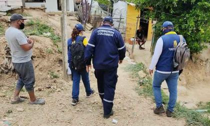 Revisan nuevos deslizamientos en el cerro de La Popa, Cartagena