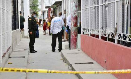 Balacera en Malambo: un muerto y un policía herido