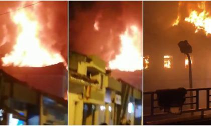Incendian palacio de justicia de Tuluá, Valle del Cauca
