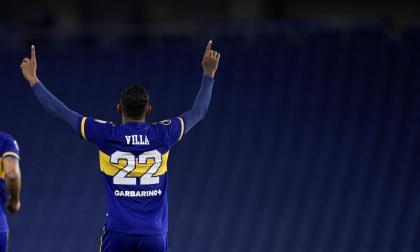 Villa, protagonista en el triunfo y clasificación de Boca a octavos de final de la Libertadores
