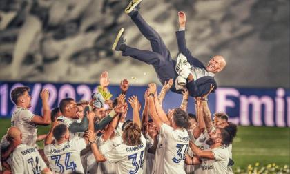Zidane, los números de la leyenda blanca