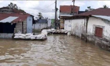 Atienden puntos críticos en Guaranda, Sucre por aumento de los niveles del río Cauca