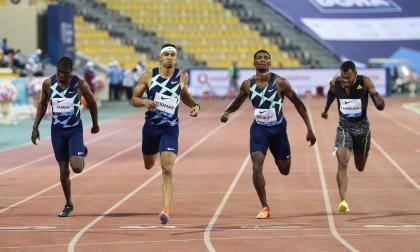 Anthony Zambrano, segundo en los 400 metros en la Liga de Diamante