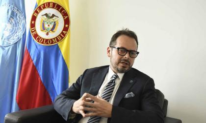 """""""La ONU está atenta a los DD. HH. en las protestas"""": Carlos Ruiz Massieu"""