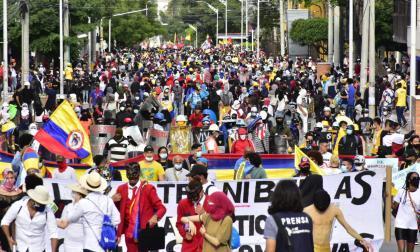 Mujeres denuncian agresiones en medio de manifestaciones