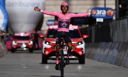 Lo que dijo Egan Bernal tras ganar el Giro de Italia 2021