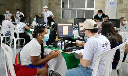 Sisbén llega al barrio Las Américas de Barranquilla