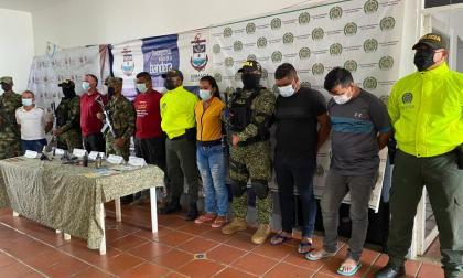 Capturan a seis integrantes del Clan del Golfo en Bolívar y Sucre