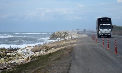 Invías garantiza protección de vía Barranquilla-Ciénaga