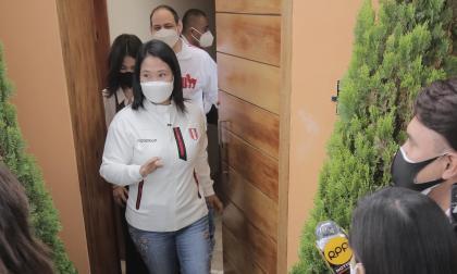 Keiko Fujimori asegura que respetará la voluntad del electorado