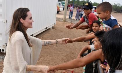 Así fue la inolvidable anécdota que vivió Angelina Jolie con un niño venezolano