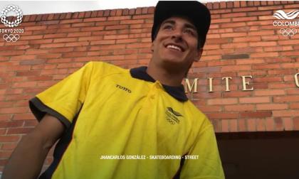 Luis Jahncarlos González clasificó a los Juegos Olímpicos de Tokio en skateboarding