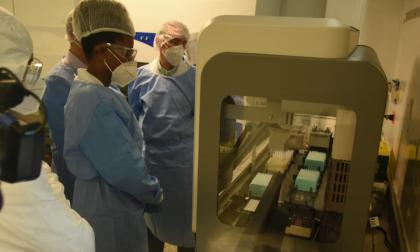 Unisimón inaugura renovado laboratorio de investigación científica