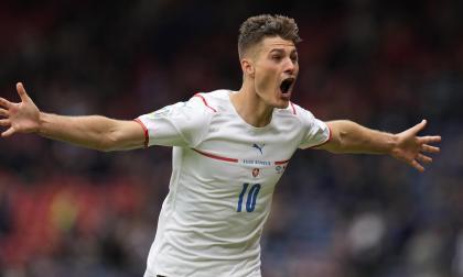 Con un golazo de Patrik Schick, Republica Checa derrotó a Escocia en la Eurocopa