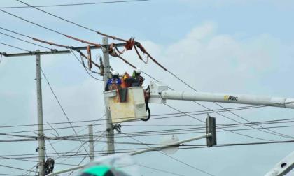 Conozca los sectores que estarán sin luz este martes
