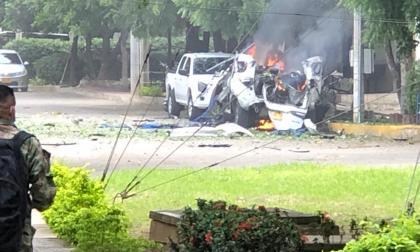 Explosión de carro bomba en la Brigada 30 del Ejército en Cúcuta