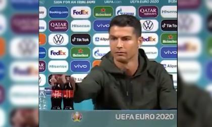 Gesto de Cristiano Ronaldo afecta a Coca Cola en el mercado bursátil