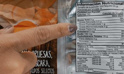 Colombia ya cuenta con etiquetado nutricional