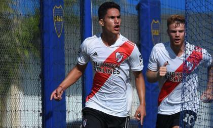 Flabian Londoño es la gran novedad en la pretemporada de River Plate
