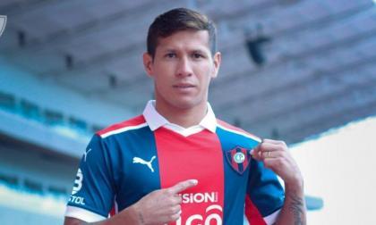Rafael Carrascal, nuevo jugador de Cerro Porteño