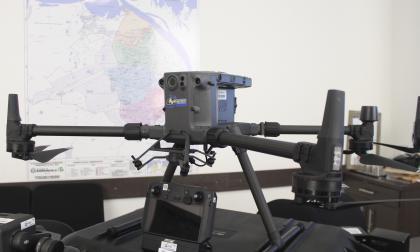 Con cinco nuevos drones, Barranquilla robustece estrategia de vigilancia aérea