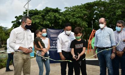 Entregan 2,3 hectáreas de zona de diversión en Puerto Colombia