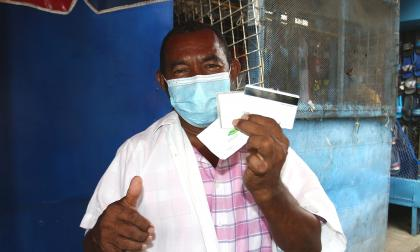 Entregan ayudas a más de 4.000 comerciantes del Centro de Barranquilla