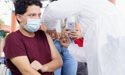 Inició plan piloto de vacunación a mayores de 18 años en Cesar