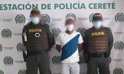 Sujeto capturado en Cereté era requerido en Barranquilla