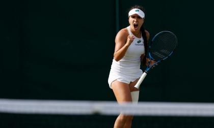 María Camila Osorio avanzó a la tercera ronda del torneo de Wimbledon