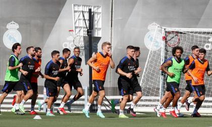 Real Madrid inició los entrenamientos de pretemporada