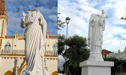 Vandalizan imágenes religiosas en Ayapel, Córdoba