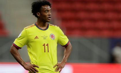 Juan Guillermo Cuadrado valoró el rendimiento de Colombia en la Copa América