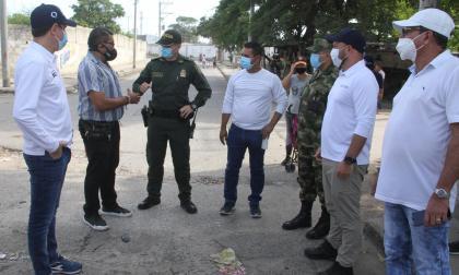 Buscan fortalecer la seguridad en el Centro de Barranquilla