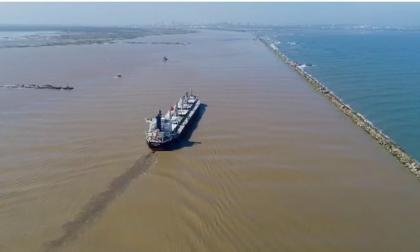 Más de 100 mil toneladas desviadas por bajo calado