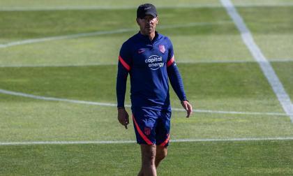 Diego Simeone extendió su contrato con el Atlético de Madrid