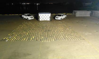 Policía incauta más de una tonelada de cocaína en el Puerto de Barranquilla