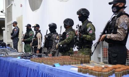 Tres colombianos fueron detenidos en operativo policial
