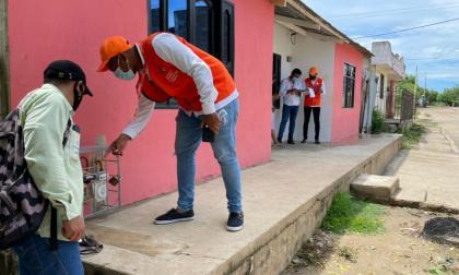 Aumenta cobertura de gas en once municipios del Magdalena
