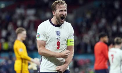 Harry Kane palpitó la final de la Eurocopa frente a Inglaterra