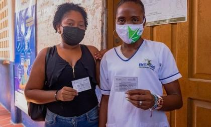 Vacunado contra covid-19 el 100% de Isla Barú