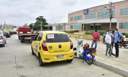 Balacera: taxista resulta herido en atraco en El Santuario