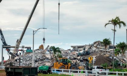 Autorizan venta del solar del derrumbe en Miami