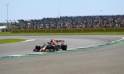 Verstappen dominó el último libre en Silverstone antes de calificación sprint