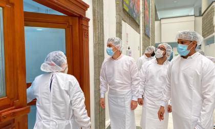 Hospital de campaña alivia presión en pabellones uci de Córdoba
